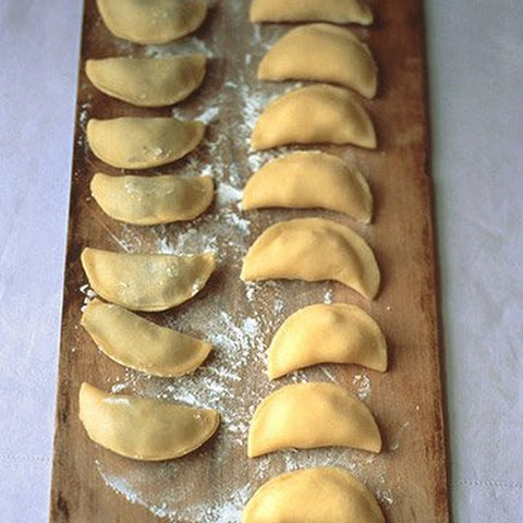 Potato and Goat Cheese Pierogi