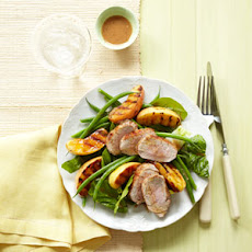 Grilled Pork and Apple Salad