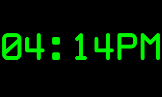 Screenshot of DeskClock