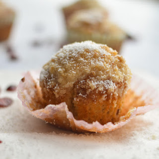 Cranberry Coconut Coffee Cake Muffins