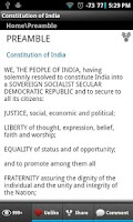 Screenshot of Constitution of India