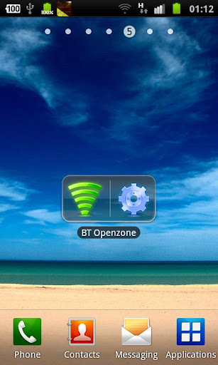WiFi Toggle + Settings