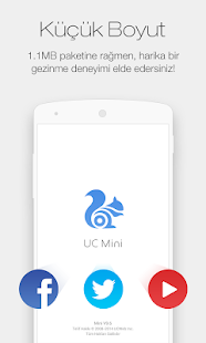 UC Browser Mini for Turkish - screenshot