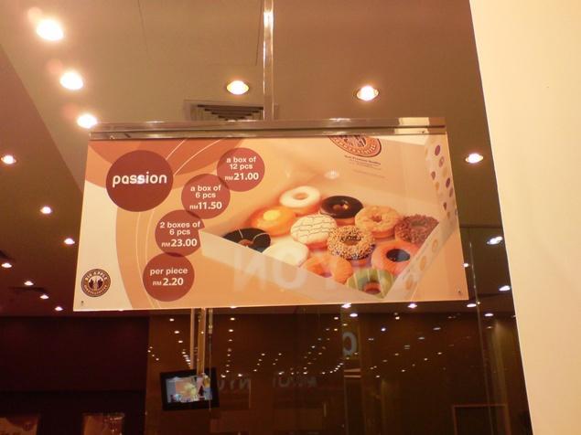 Price Board @ Big Apple Donuts & Coffee - Malaysia Food ...