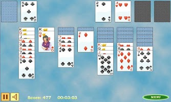 Screenshot of Klondike Solitaire