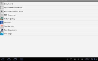 Screenshot of MotoPrint for Xoom Intl and FE