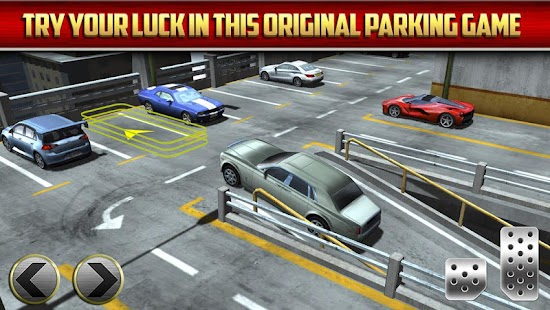 APK Game Multi Level Car Parking Games for BB, BlackBerry