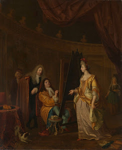 RIJKS: Ludolf Bakhuysen: painting 1707