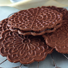 Chocolate Peppermint Pizzelle