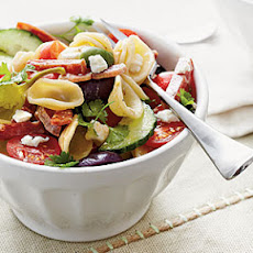 Marinated Greek-Style Pasta
