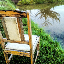 Chair by the pond by Angelo Perrino - Artistic Objects Furniture ( Chair, Chairs, Sitting )