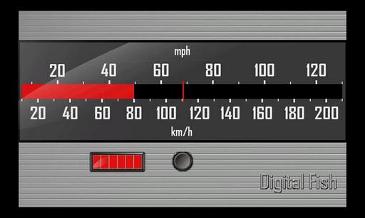 スピードメーター125