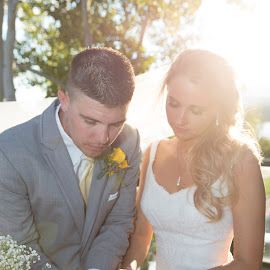 Making it Official by Brooke Green - Wedding Bride & Groom ( natural light, wedding, outdoor, bride and groom, portrait )