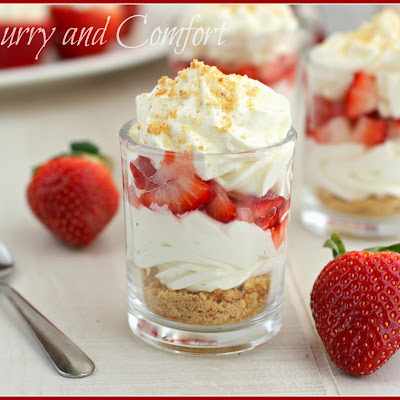 Strawberry Cheesecake Trifles
