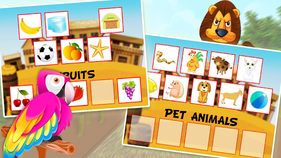 Preschool Educational Train - screenshot