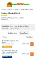 Screenshot of Book Cheap Hotels