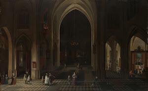 RIJKS: Pieter Neefs (I): painting 1636