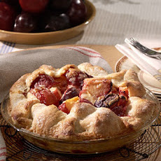 Bottom Crust Plum Pie