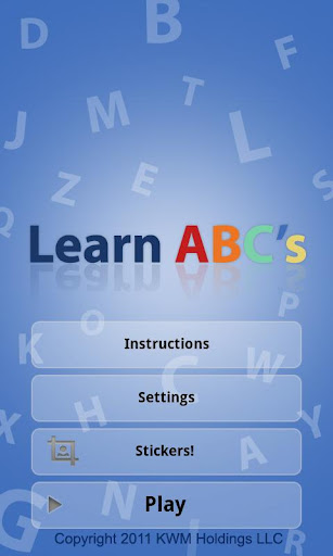Learn ABCs Site Words Free