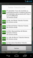 Screenshot of Transito Livre