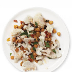 Chickpea and Cauliflower Salad