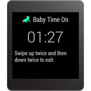 Baby Time: Android Wear Lock - screenshot