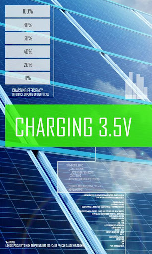 太陽能電池充電器 Joke