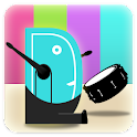 Drumr Drum Set Ad Free icon