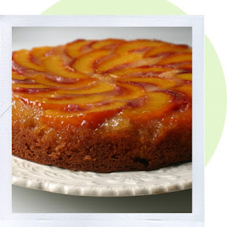 Honey Peach Upside Down Cake