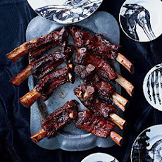 Grilled Beef Ribs with Smoky-Sweet Barbecue Sauce