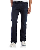 AG Adriano Goldschmied Protege Classic Straight Jeans, Ear Earth - (38)