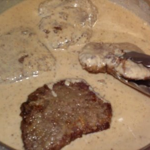 Southern Steak and Milk Gravy