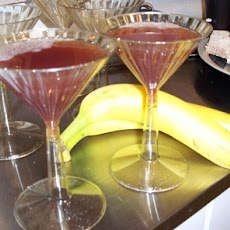 Pomegranate Champagne Martini