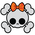 GLX Theme: Cute Haloween Skull