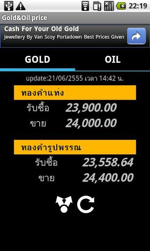 Thai Gold Oil price