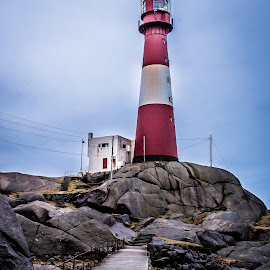 Eigeroy Lighthouse by Terje Jorgensen - Buildings & Architecture Other Exteriors (  )