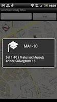 Screenshot of Lund University Sites