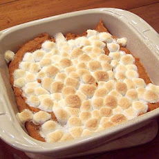 Sweet Potato (Yam) Casserole With Marshmallows