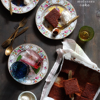 Old Fashion Molasses Cake