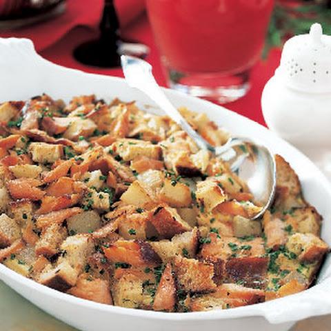 Smoked Salmon and Potato Breakfast Casserole
