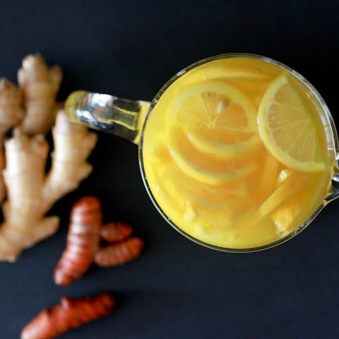 Ginger Turmeric Detox Tea