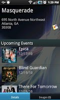 Screenshot of Concert Finder (Ad Supported)