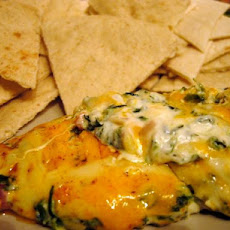 Yummy 4 Cheese Spinach Dip