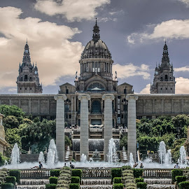 Barcelona palace by John Myrianthousis - Buildings & Architecture Public & Historical