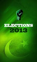 Screenshot of Pakistan Elections 2013