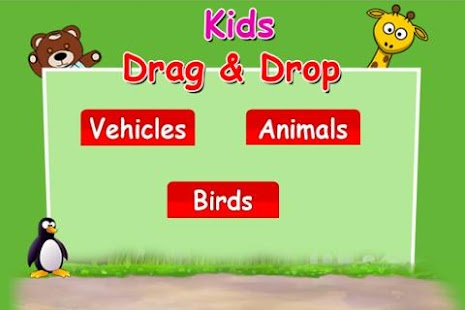 Kids Drag And Drop - screenshot
