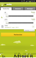 Screenshot of carpooling.fr
