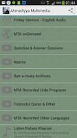 Screenshot of Ahmadiyya Multimedia