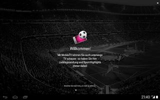 Screenshot of MobileTV