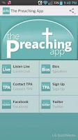Screenshot of The Preaching App - Live 24/7